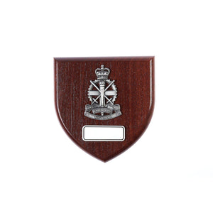 Army Apprentices School Badge Plaque Large - Buckingham Pewter