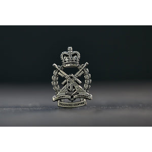 Army Recruit Training Centre Pewter Pin - Buckingham Pewter