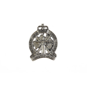 The Australian Army Legal Corps Pewter Lapel Pin (AALC) - Buckingham Pewter