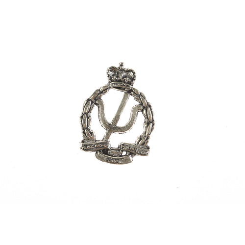 The Royal Australian Army Ordnance Corps Pewter Lapel Pin (AA Psych) - Buckingham Pewter