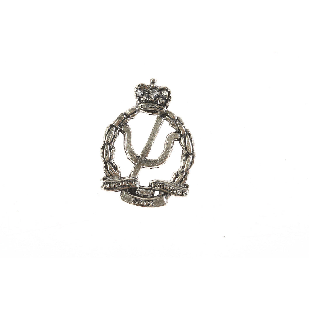 The Royal Australian Army Psychology Corps Pewter Lapel Pin (AA Psych) - Buckingham Pewter