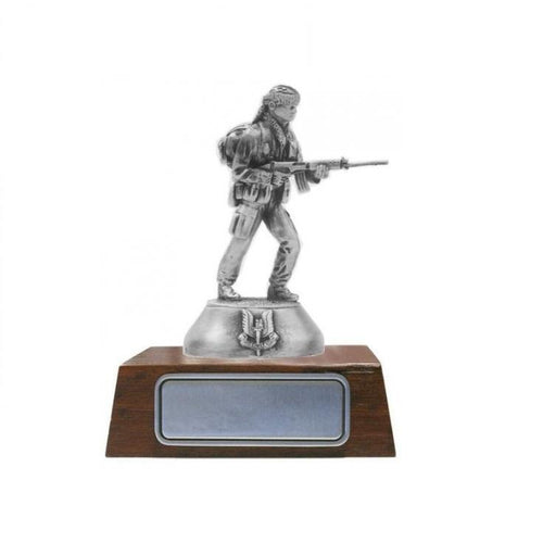 B102 Special Air Services SAS Combat Mode Pewter Figurine (SASR) - Buckingham Pewter