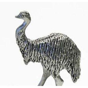 BP141 Pewter Emu Large-Buckingham Pewter