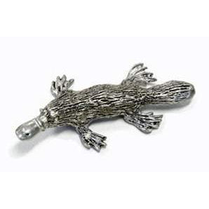 BP180 Pewter Platypus - Medium-Buckingham Pewter