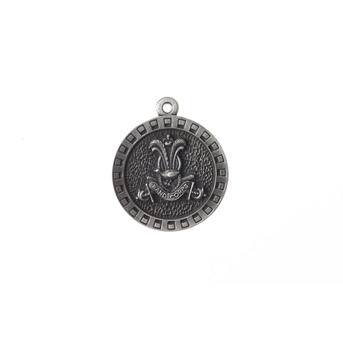 The Australian Army Band Corps Pewter Keyring (Band) (AABC) - Buckingham Pewter