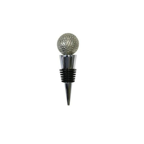 Bottle Stopper with Pewter Golf ball-Buckingham Pewter