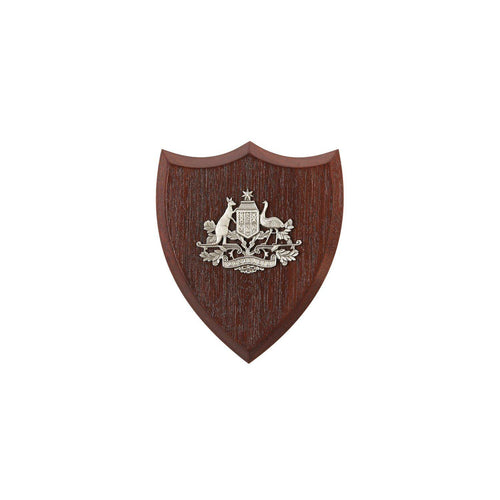 Australian Coat Of Arms Plaque Small-Buckingham Pewter