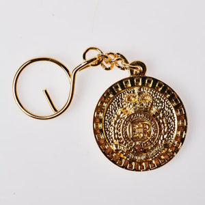 The Royal Australian Engineers Keyring GOLD PLATED