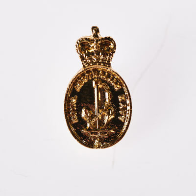 The Royal Australian Navy Pewter Pin GOLD PLATED