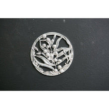 Load image into Gallery viewer, Pewter Pot Pouri Lid Wattle design-Buckingham Pewter