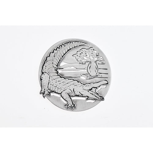Crocodile Coaster 3D-Buckingham Pewter