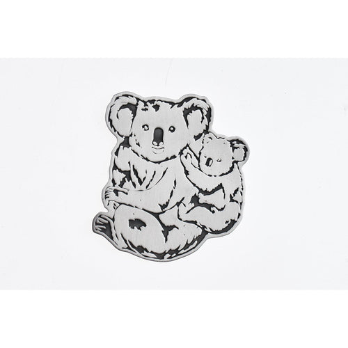 Koala Coaster-Buckingham Pewter