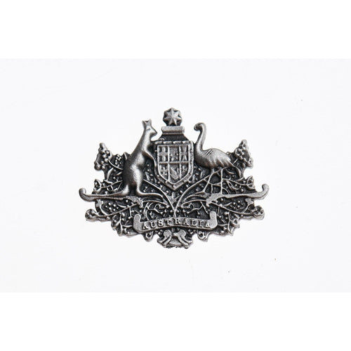 Australian Coat Of Arms Pewter Pin-Buckingham Pewter
