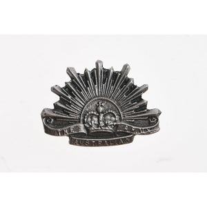 The Australian Rising Sun Pewter Lapel Pin Small - Buckingham Pewter