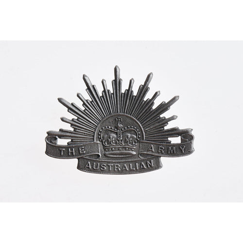 The Australian Army Rising Sun Pewter Lapel Pin Large-Buckingham Pewter