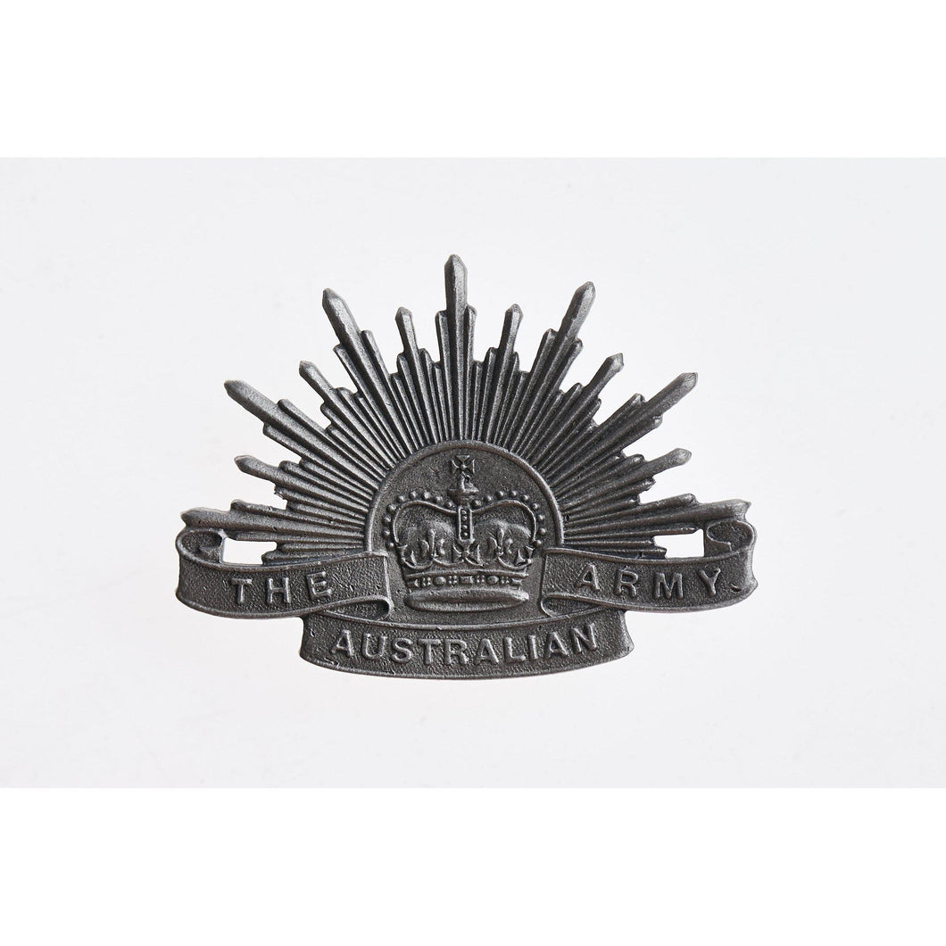 The Australian Army Rising Sun Pewter Lapel Pin Large - Buckingham Pewter