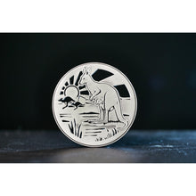 Load image into Gallery viewer, Kangaroo Coaster 3D-Buckingham Pewter