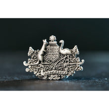 Load image into Gallery viewer, Australian Coat Of Arms Pewter Pin-Buckingham Pewter