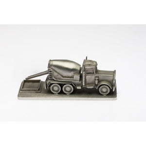 M007 Cement Truck-Buckingham Pewter