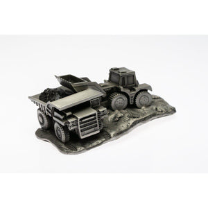 M005 Hualpac Truck and Loader-Buckingham Pewter