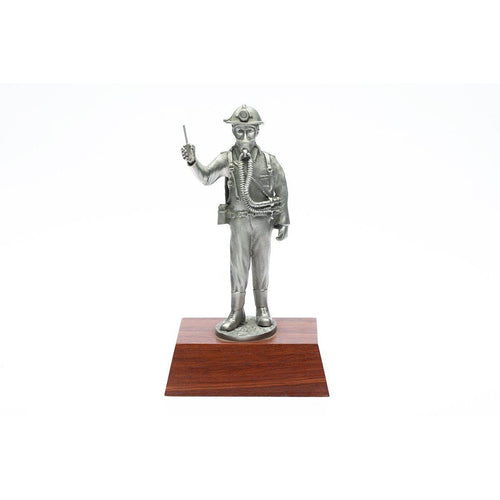 M010 Mines Rescue Figurine-Buckingham Pewter
