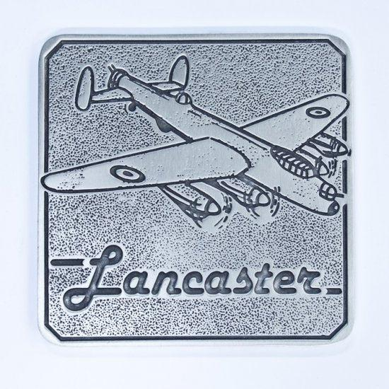 Pewter Coaster Royal Australian Air Force RAAF - Lancaster - Buckingham Pewter