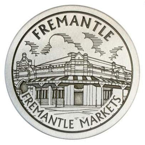 Pewter Fremantle Landmark - Fremantle Markets Coaster / Plate-Buckingham Pewter