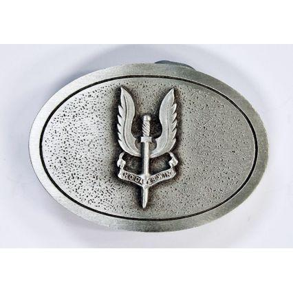 The Special Air Service Regiment Pewter Belt Buckle (SASR) - Buckingham Pewter