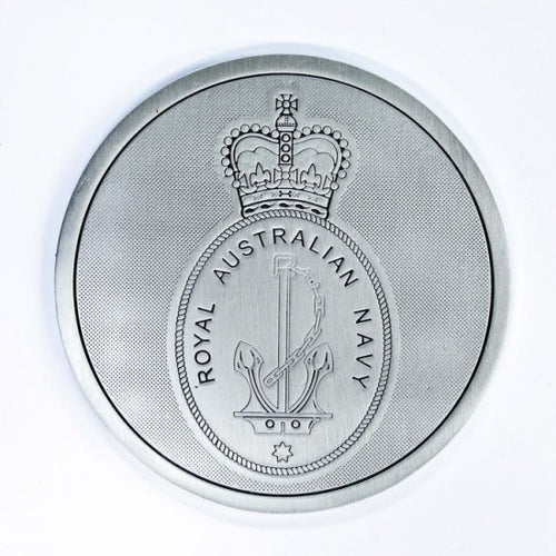 Pewter Military Coaster Royal Australian Navy RAN - Buckingham Pewter