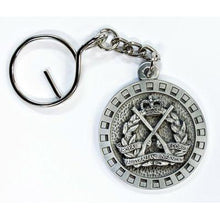 Load image into Gallery viewer, The Royal Australian Infantry Corps Pewter Keyring (RA Inf) - Buckingham Pewter