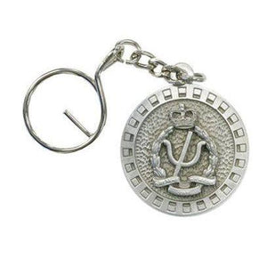 The Royal Australian Army Psychology Corps Pewter Keyring (AA Psych) - Buckingham Pewter