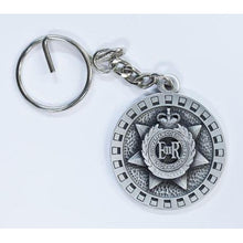Load image into Gallery viewer, The Royal Australian Corps of Transport Pewter Keyring (RACT) - Buckingham Pewter