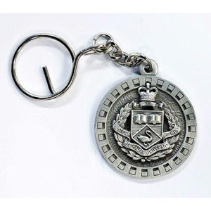 WA University Regiment Pewter Keyring - Buckingham Pewter