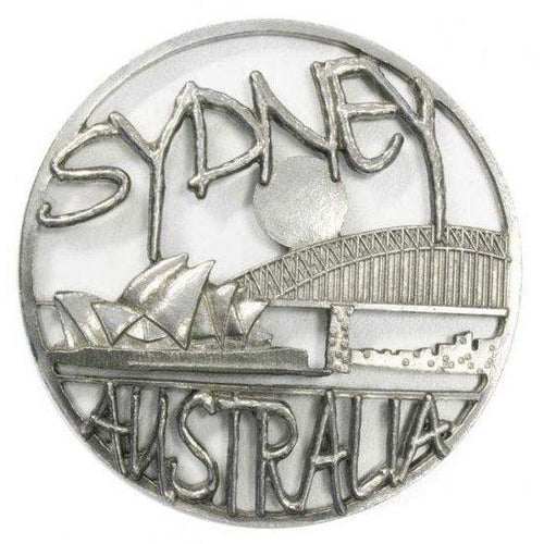Pewter Pot Pouri Lid Sydney Harbour Bridge design-Buckingham Pewter