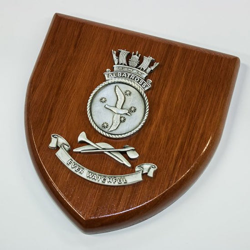 HMAS Albatross Plaque Large - Buckingham Pewter