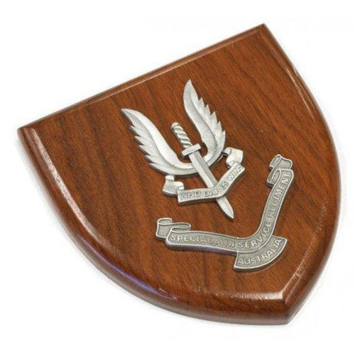 The Special Air Service Regiment Plaque Large (SASR) - Buckingham Pewter