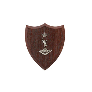 The Royal Australian Corps of Signals Plaque Small (RASigs) - Buckingham Pewter