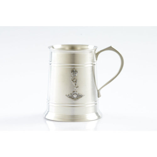 The Royal Australian Corps of Signals (RASigs) 560 ml Tankard-Buckingham Pewter