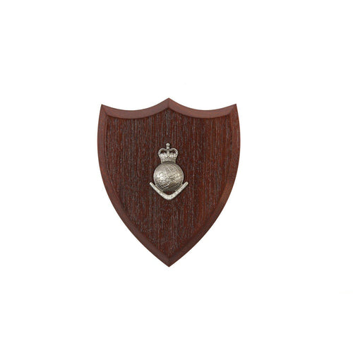 The Royal Australian Survey Corps Plaque Small (Globe) (RA Svy) - Buckingham Pewter