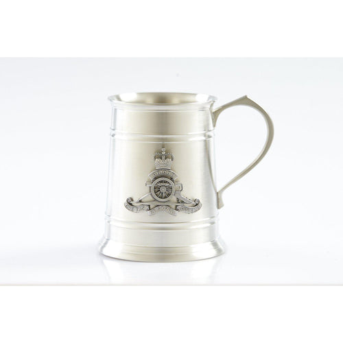 The Royal Australian Artillery (RAA) 560 ml Tankard-Buckingham Pewter