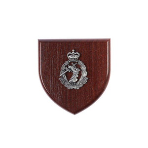 The Royal Australian Army Dental Corps Plaque Large (RAADC) - Buckingham Pewter