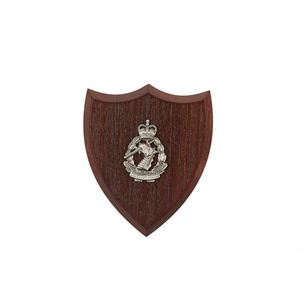 The Royal Australian Army Dental Corps Plaque Small (RAADC) - Buckingham Pewter