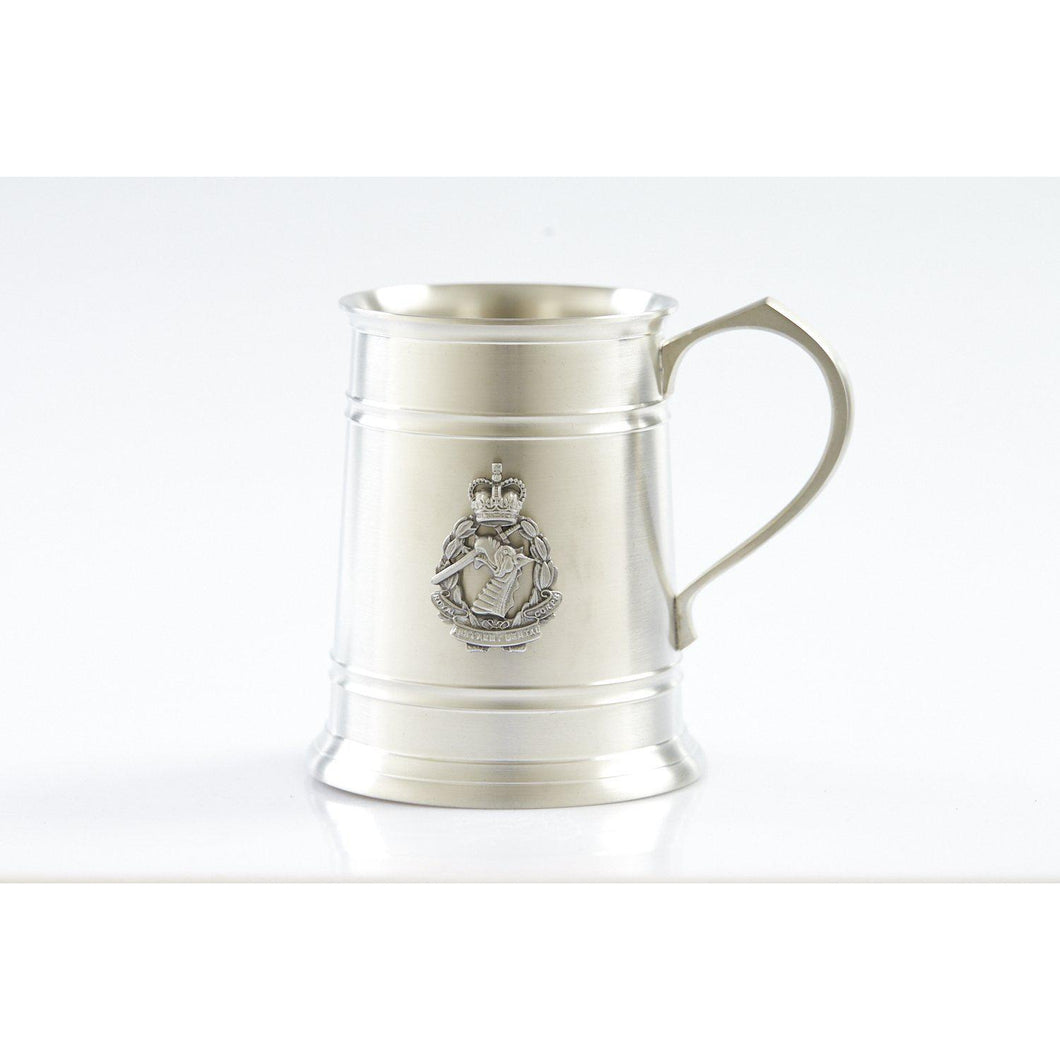 The Royal Australian Army Dental Corps (RAADC) 560 ml Tankard-Buckingham Pewter