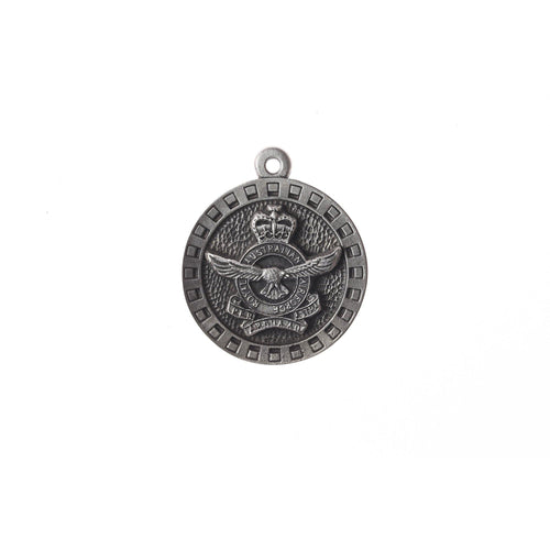 Royal Australian Air Force Pewter Keyring (RAAF)-Buckingham Pewter