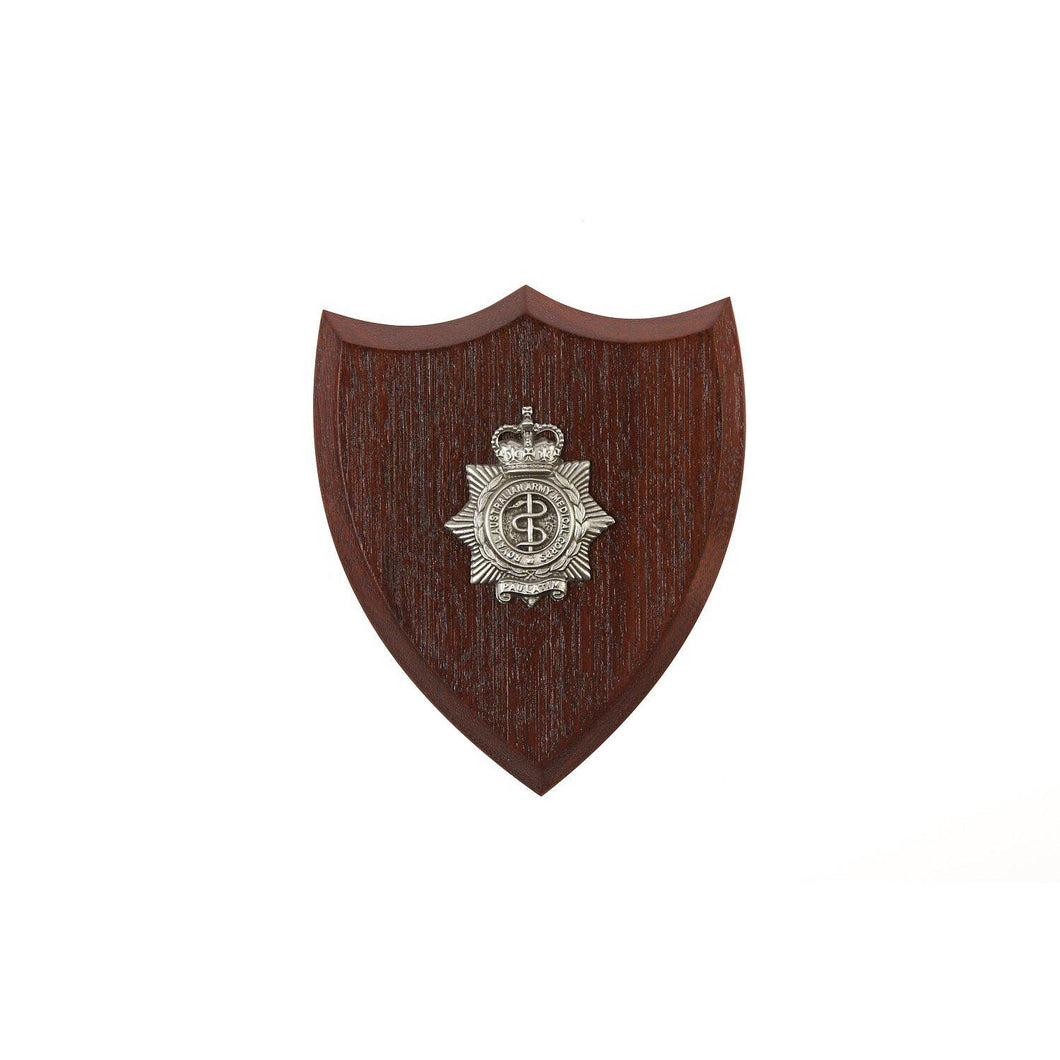The Royal Australian Army Medical Corps Plaque Small (RAAMC) - Buckingham Pewter
