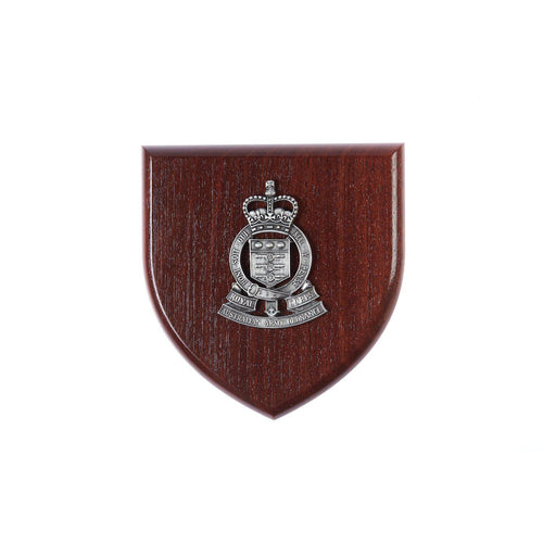 The Royal Australian Army Ordnance Corps Plaque Large (RAAOC) - Buckingham Pewter