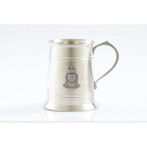 The Royal Australian Army Ordnance Corps (RAAOC) 560 ml Tankard-Buckingham Pewter