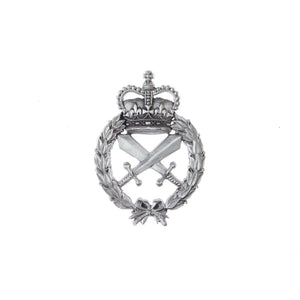 The Royal Australian Corps of Military Police Plaque Large (RACMP) - Buckingham Pewter