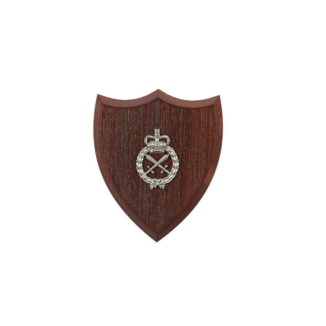 The Royal Australian Corps of Military Police Plaque Small (RACMP) - Buckingham Pewter