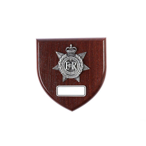 The Royal Australian Corps of Transport Plaque Large (RACT) - Buckingham Pewter